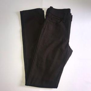 NYDJ Brown Stretchy Jean Pants